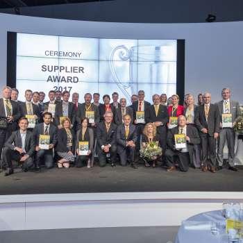 Supplier Award 2017 DHL