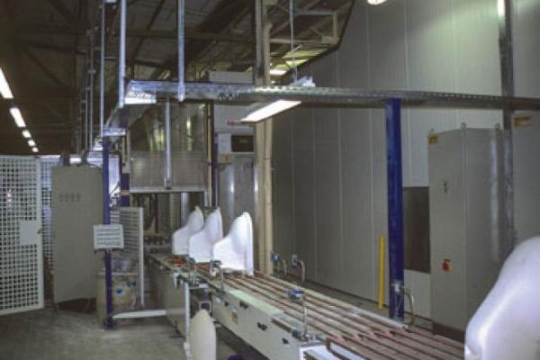 Glazing tableware/sanitary ware - LIPPERT - engineering