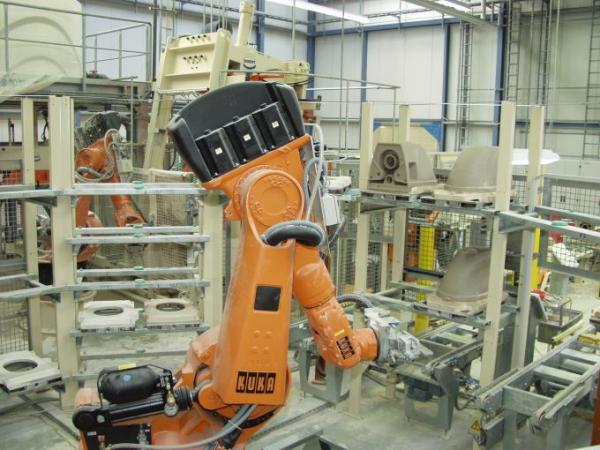 Robot handling
