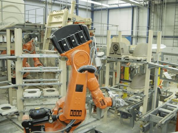 Roboterhandling