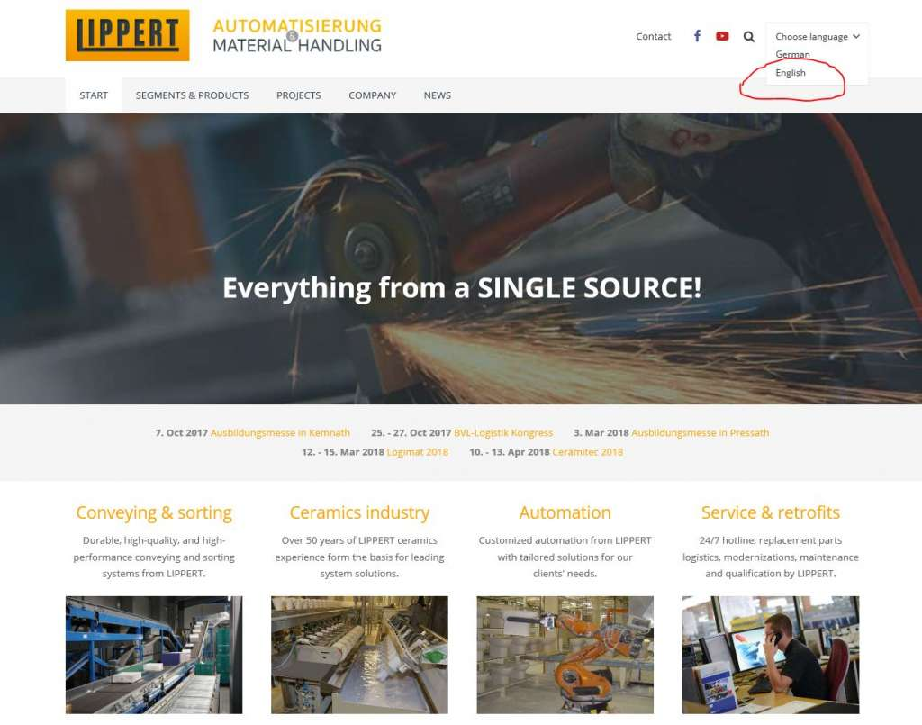 www.lippert.de/en is now available in english!
