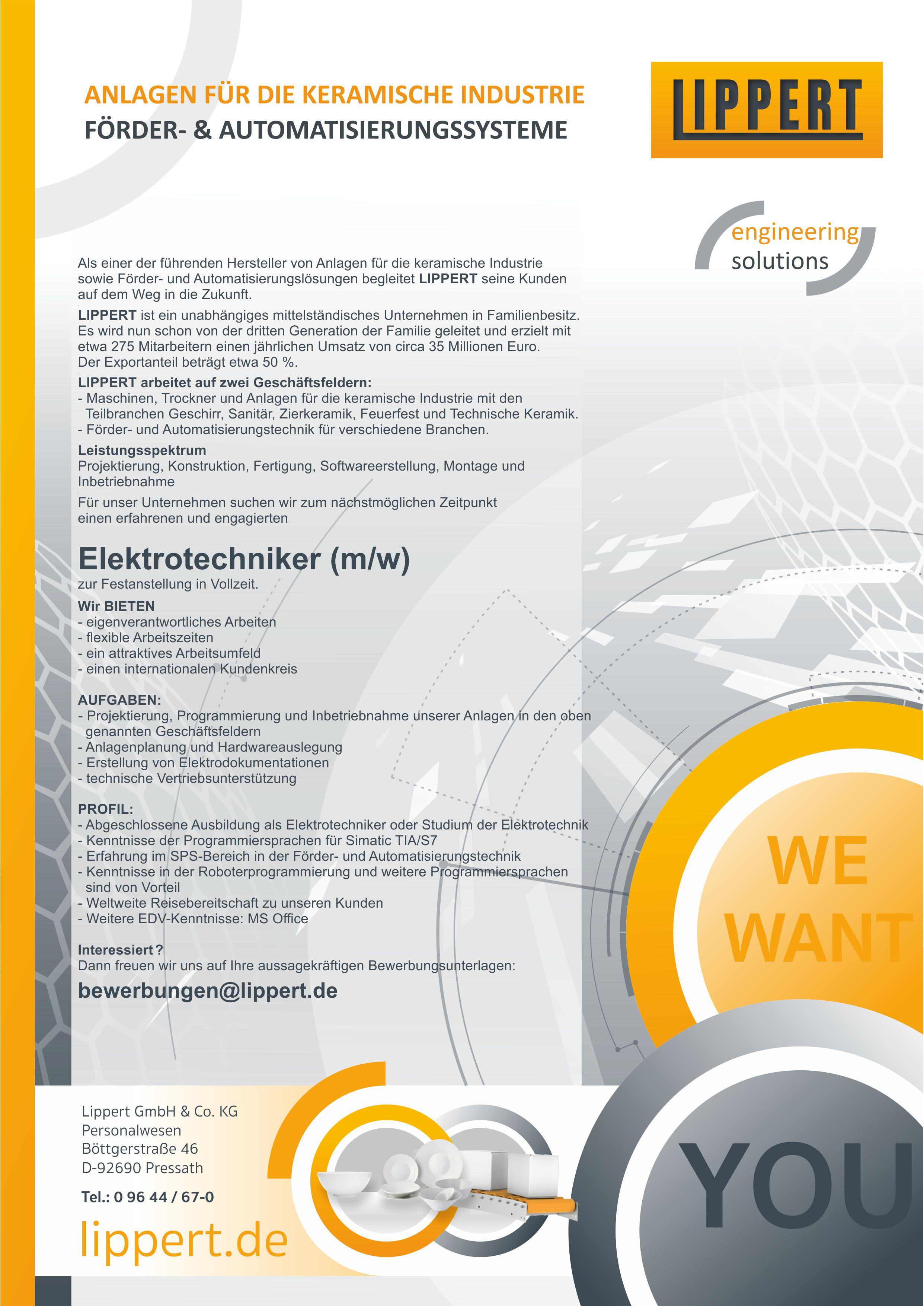Elektrotechniker (m/w/d)