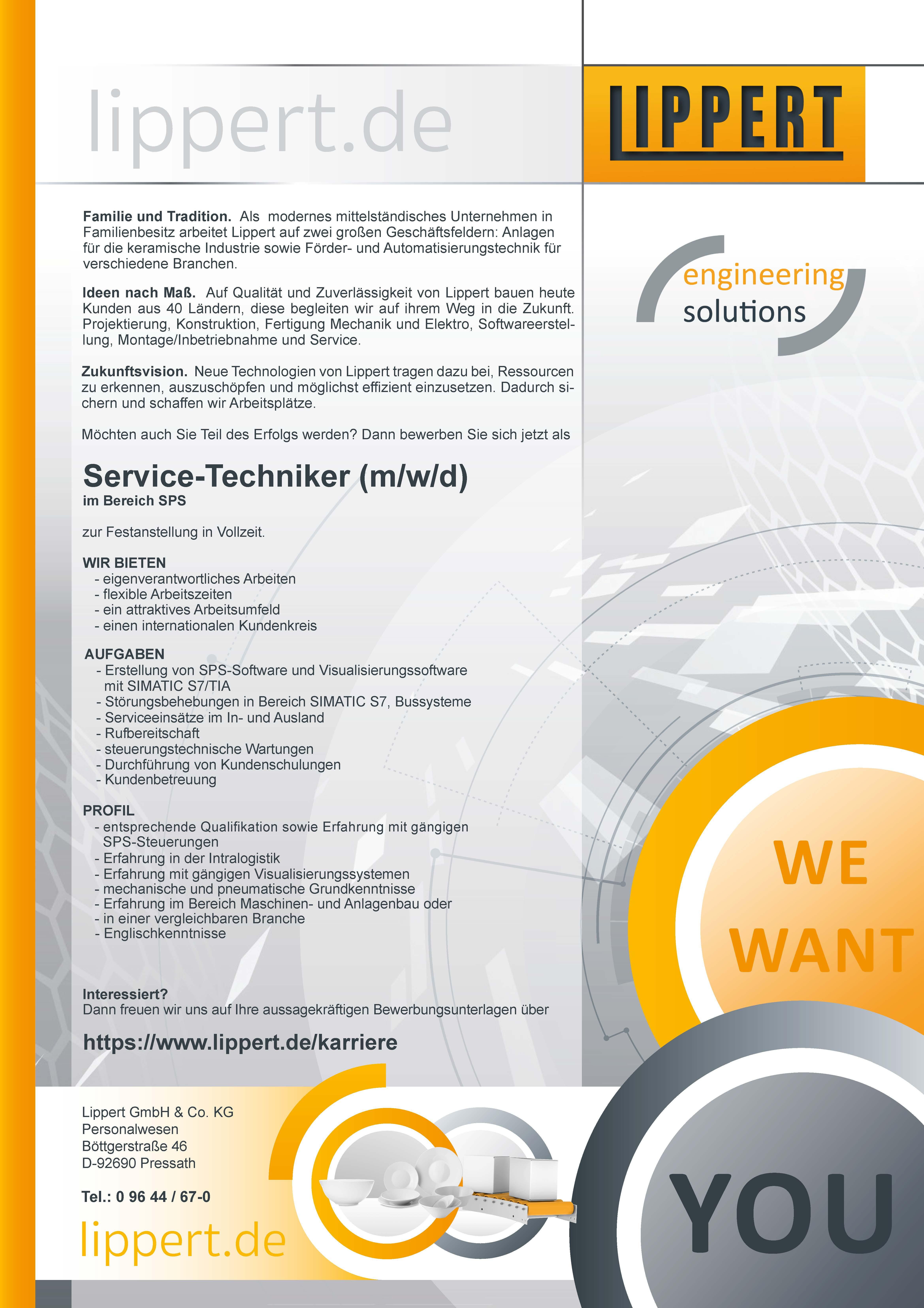 Service-Techniker (m/w/d)