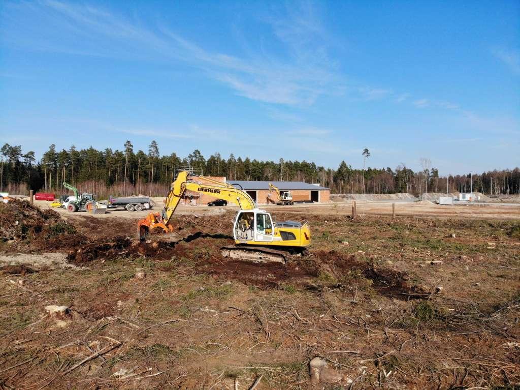 Update Neubau – Stand: Ostern 2019