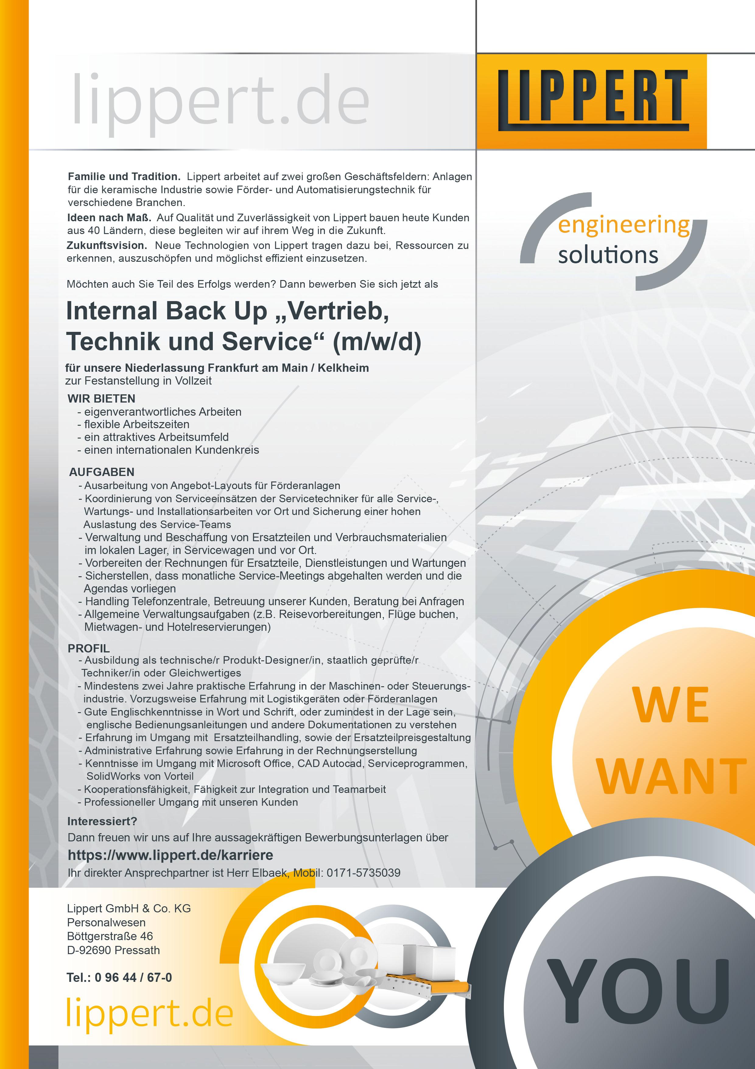 Internal Back Up